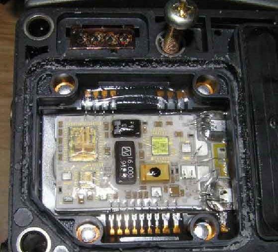 Блок управления насоса VP44