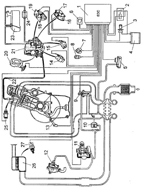 Схема системы автоматического