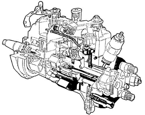 Схема гидравлической головки